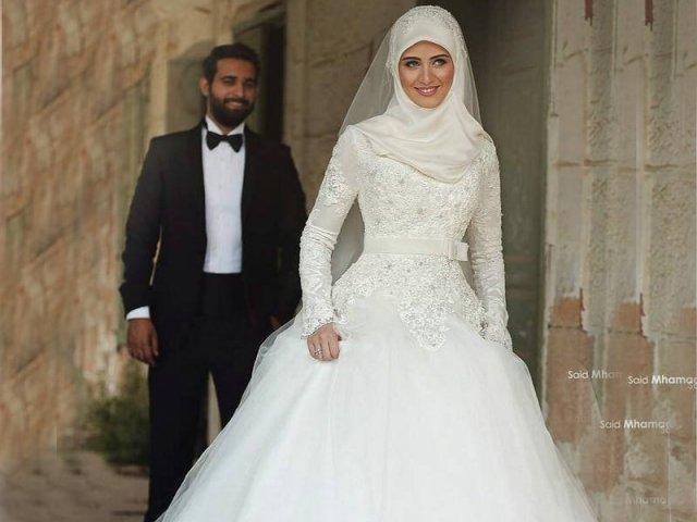 Veja como seria o seu vestido de casamento muçulmano!