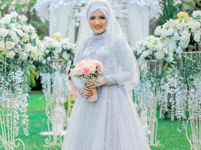 Qual será o seu vestido de noiva muçulmano?