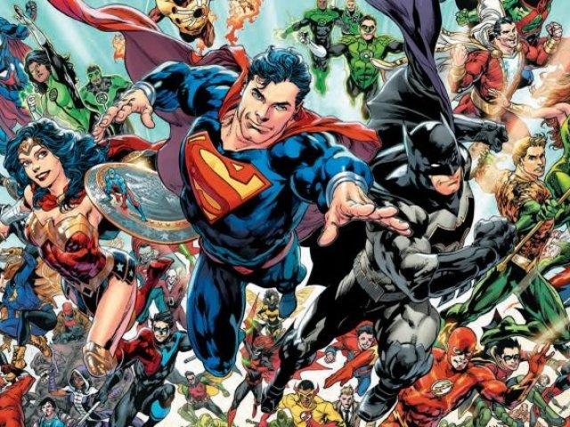 Você acerta esses personagens da DC? (modo médio)