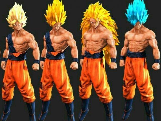 Qual Super Saiyajin você seria?