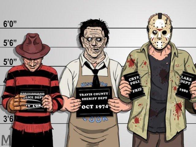 Qual vilão dos filmes de terror você seria?