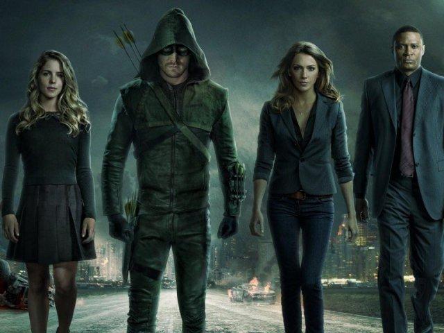 Com qual personagem de Arrow você mais se identifica?