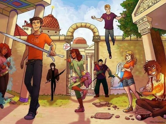O quanto você sabe sobre as séries de Percy Jackson e Heróis do Olimpo?