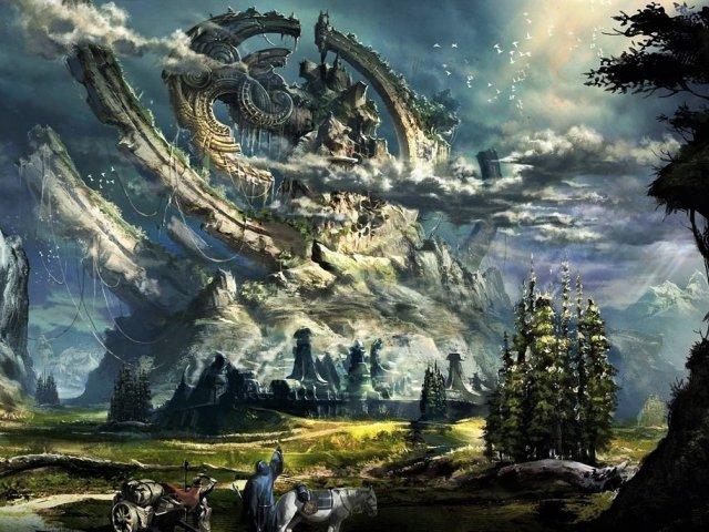 Em qual reino você viveria em um mundo de fantasia?