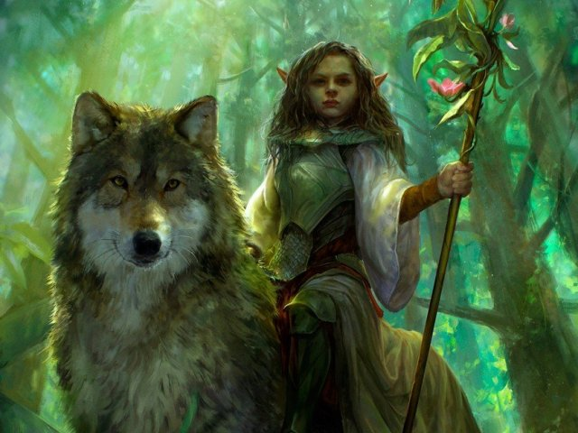 Qual criatura mística é sua guardiã?