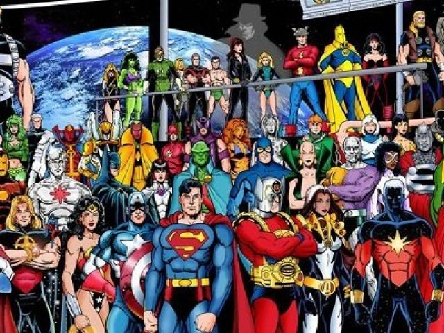Qual herói dos quadrinho você seria?
