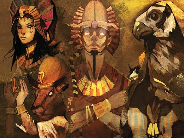 Qual deus egípcio melhor lhe representa?