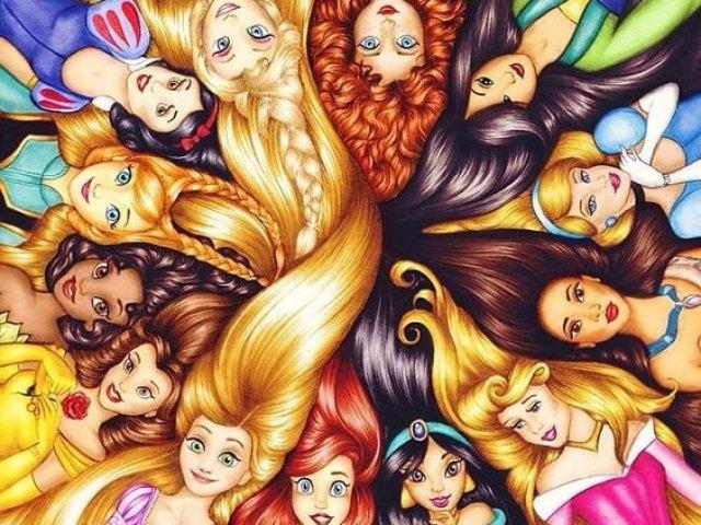 Com qual princesa Disney que você mais parece?