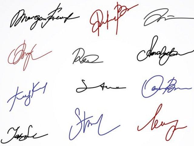 De quem e essa assinatura?