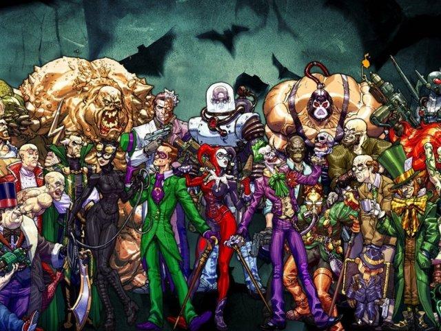 Maiores vilões do Batman