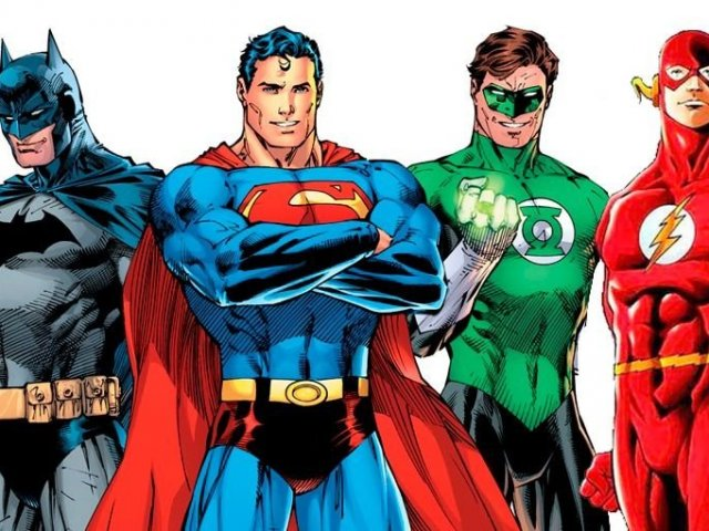 Você é mais Batman,Superman,Lanterna Verde ou Flash?
