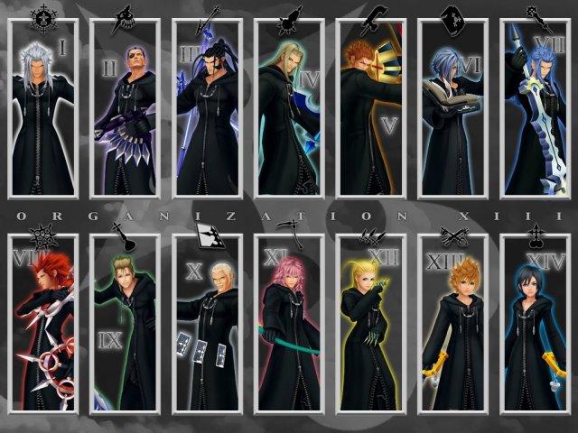 Kingdom Hearts: Qual membro da Organização XIII você seria?