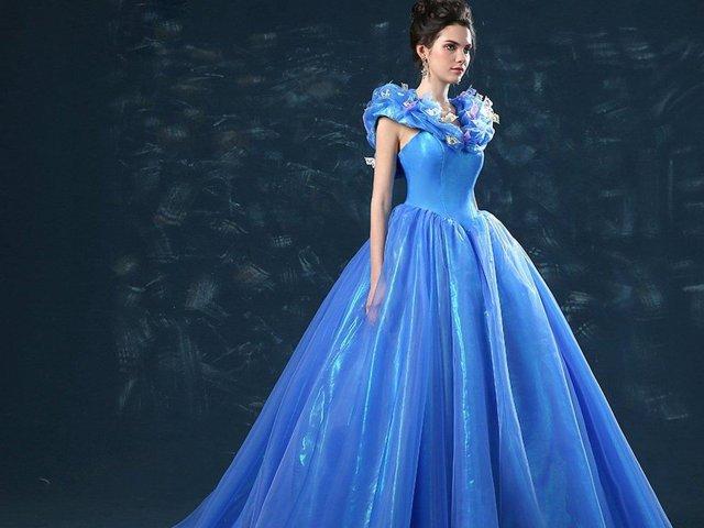 Como seria o seu vestido de princesa?