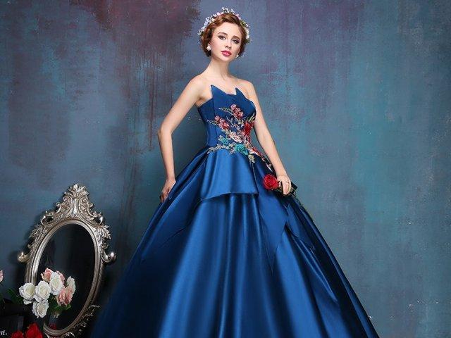 Qual seria o seu vestido Royal?