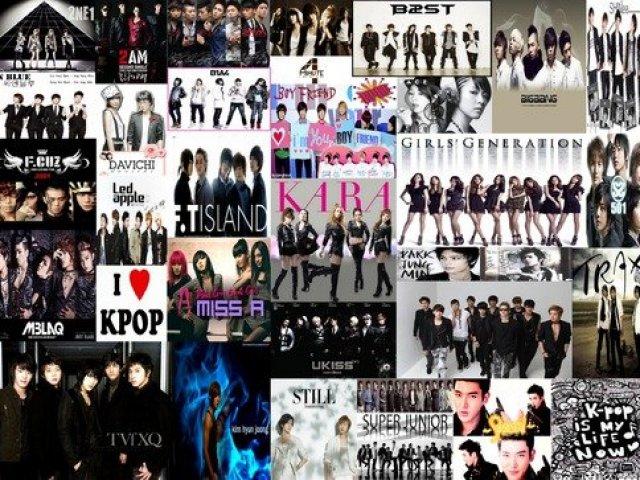 Qual e o grupo no Kpop? xau