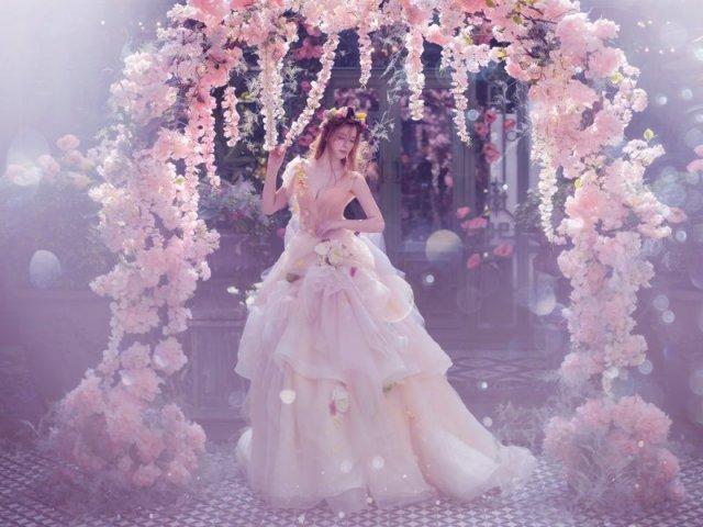 Como seria o seu vestido de princesa encantada?