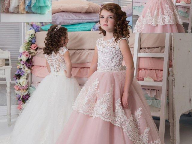 Como seria seu vestido infantil de princesa?