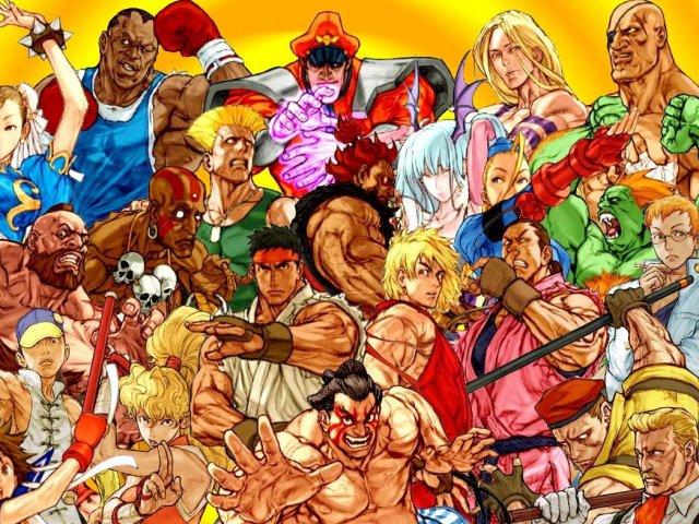 Quem você seria em Street Fighter?