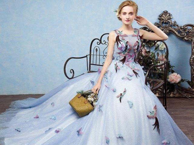 Qual seria o seu vestido de contos de fadas?