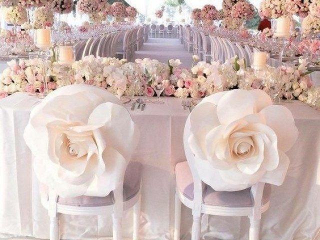 Como será a sua decoração de casamento?