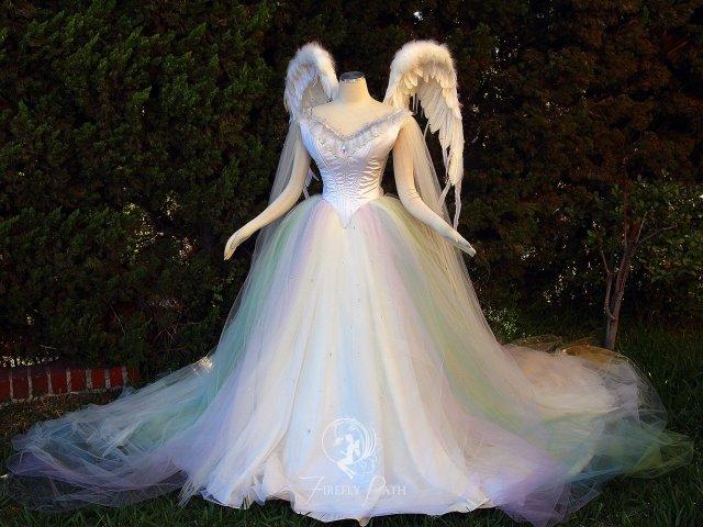 Como será o seu vestido de conto de fadas?
