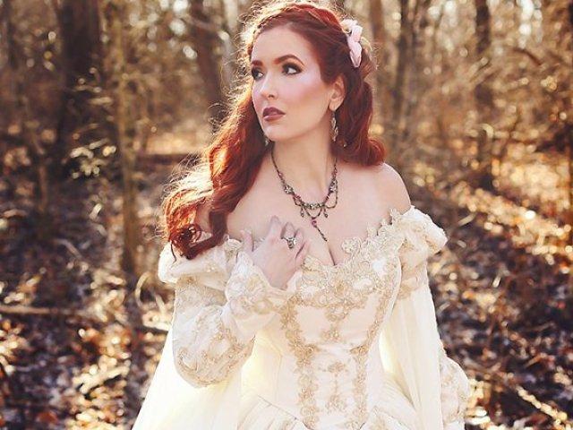 Como seria o seu vestido de contos de fadas?
