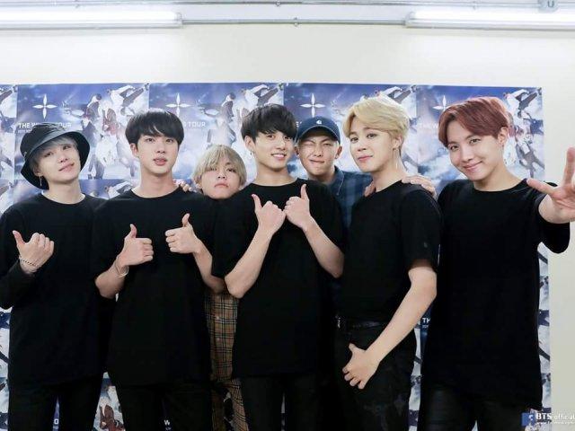 Você reconhece os membros do BTS? (Fácil)