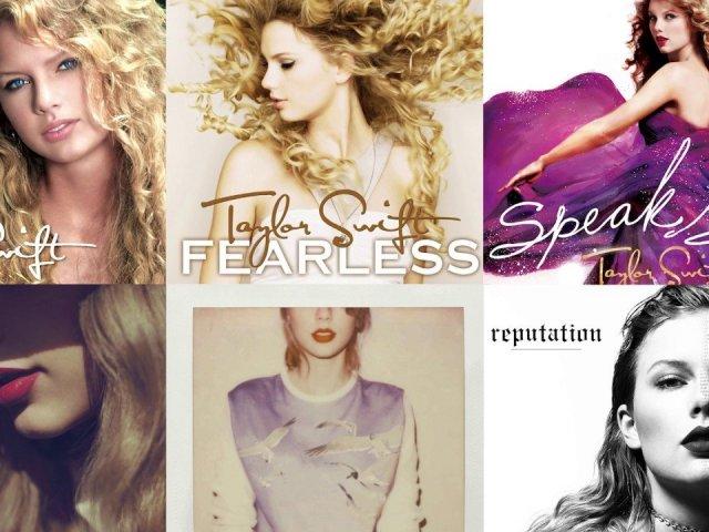 Qual álbum de Taylor Swift você é?