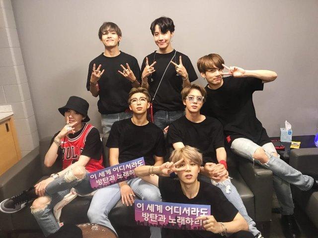 Você reconhece os membros do BTS?