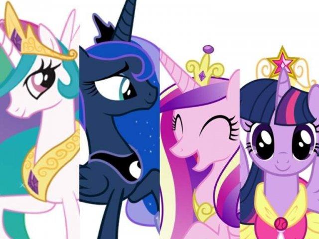 Você seria que tipo de princesa em Equestria?